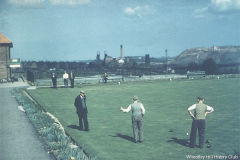 View from the Community Centre, 1960s.