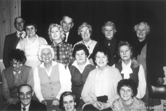The newly formed Wheatley Hill Indoor Bowls Club, 1978.