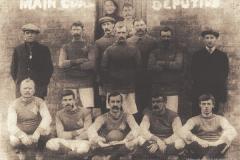 Wheatley Hill Colliery Football Team, c. 1906-1910.