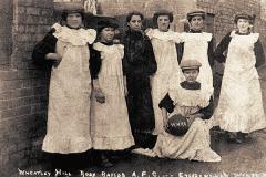 "Wheatley Hill Ladies Football Team (""Rosy Rapids"" AFC), 1909."