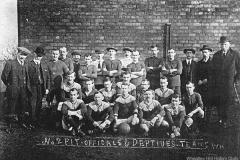 Wheatley Hill Colliery Officials & Deputies Football Teams, 1910s.