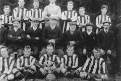 Wingate Quarry Football Team, 1912-1913.