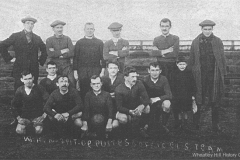 Wheatley Hill Colliery Deputies and Officials Football Team, 1920s.