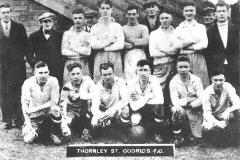Thornley St Godric's Football Team, 1935-1936. see next slide for member identification.