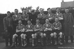 Wheatley Hill Welfare Football Team, 1940s.