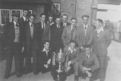 Winners of the Mechanics Football Cup, 1950s.