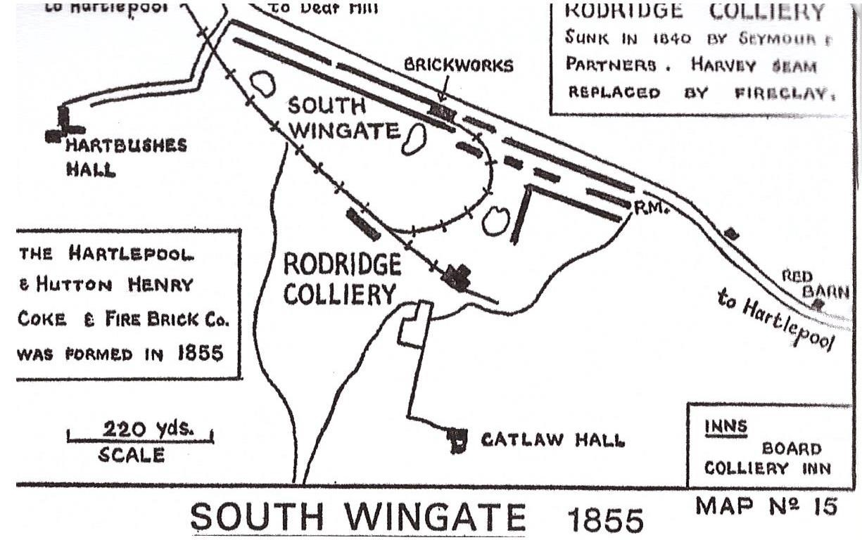 Roderidge Collery Map